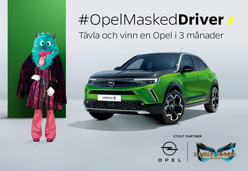 Opel Masked Singer Drive